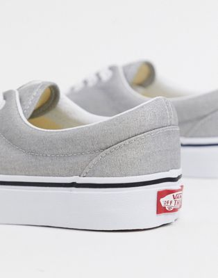 Vans ua era – silver/true white